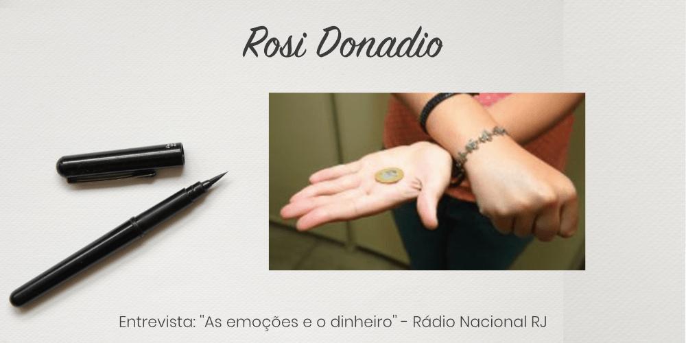 """Entrevista: """"Emoções e dinheiro – o que fazer para para ter estabilidade na vida financeira?""""- Rádio Nacional RJ"""