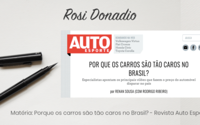 Matéria: Porque os carros são tão caros no Brasil? – Revista Auto Esporte